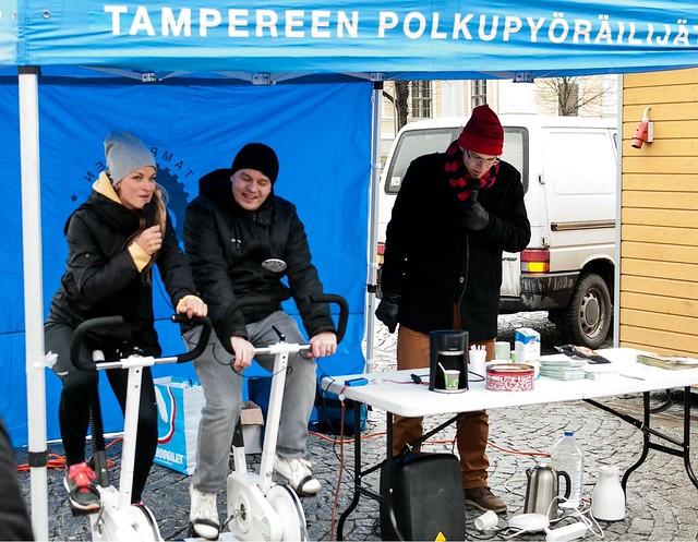 Polkuäänikahvila Tampereella