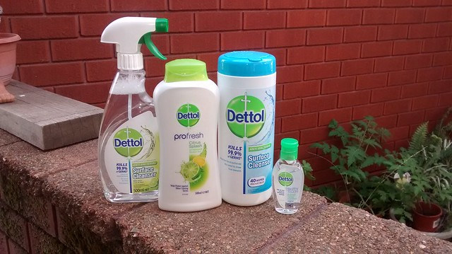 Dettol products to review