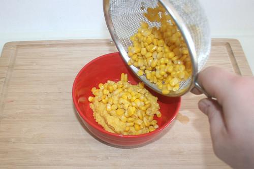 16 - Restlichen Mais dazu geben / Add remaining corn