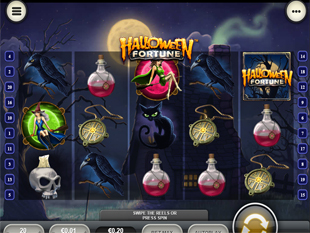 Halloween Fortune Mobile slot game online review