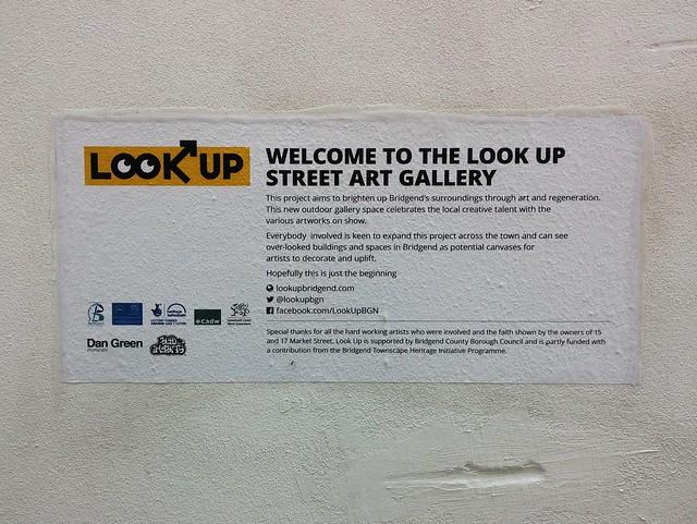 Look Up Bridgend art exhibition