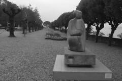 Lake Como - Bellagio Giovanni Mason sculpture