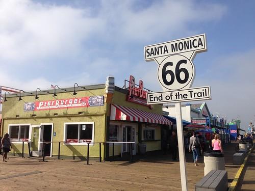 Santa Monica fine Route 66