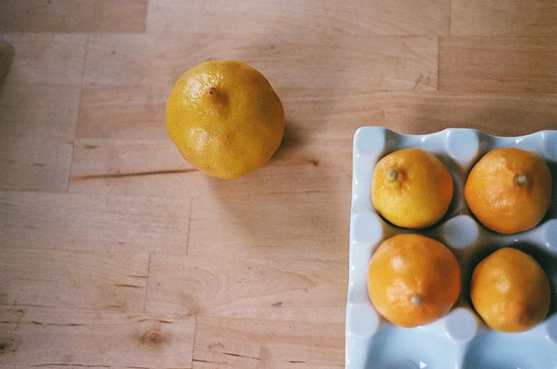 Bergamot, meyer lemons