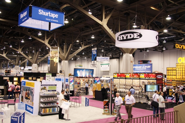 The 2015 National Hardware Show will have a new floor plan