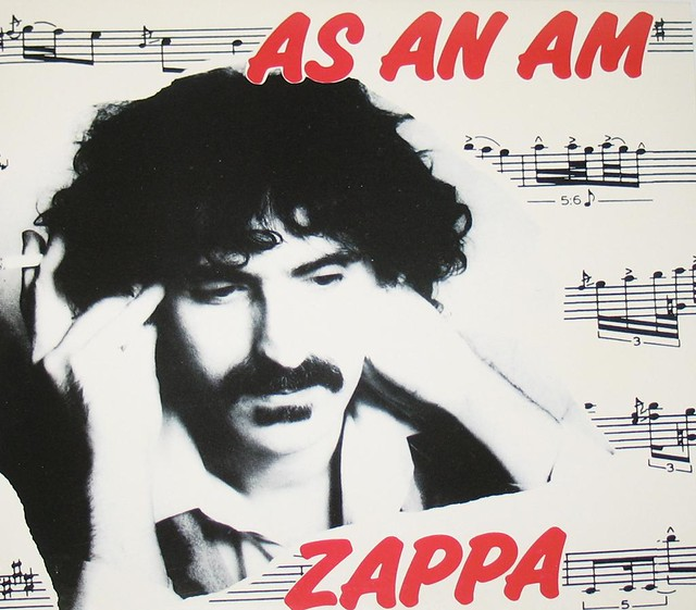 "FRANK ZAPPA AS AN AM 12"" VinYl LP"
