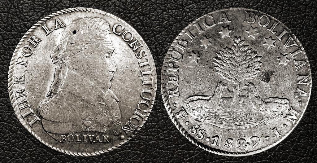 8 SOLES - BOLIVIA 1829 PTS-JM 17090998375_d6f255f7cd_b