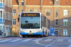 GVB Mercedes Citaro bus 326, Lijn 21, Marnixplein