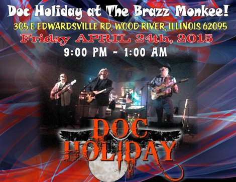 Doc Holiday 4-24-15