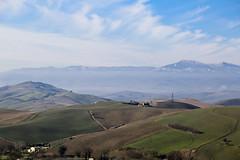 Tuscany Hills (view from San Casciano dei Bagni)