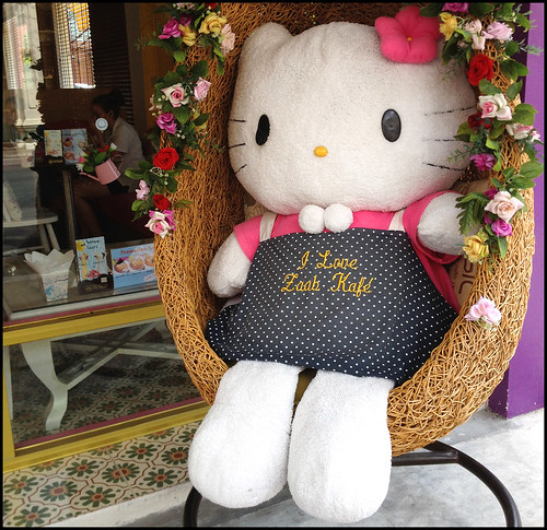 Kitty Welcomes you to Zaab Kafe