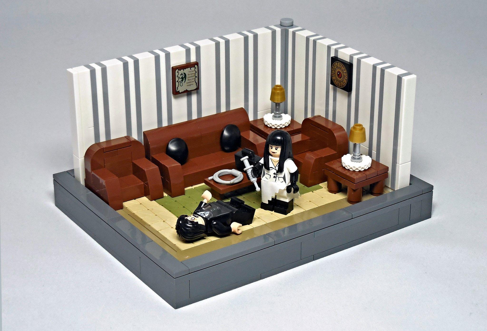LEGO® MOC by Vitreolum: Audition (1999)
