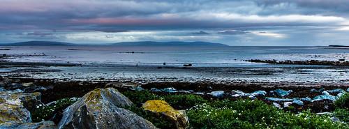 ireland galway sunrise dawn galwaybay