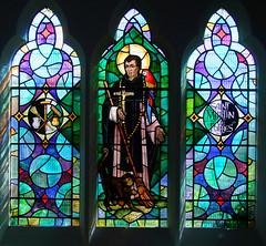St Martin de Porres by John Lawson, 1974