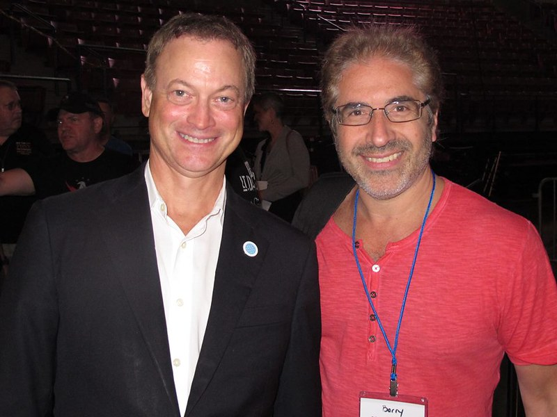Barry and Gary Sinise