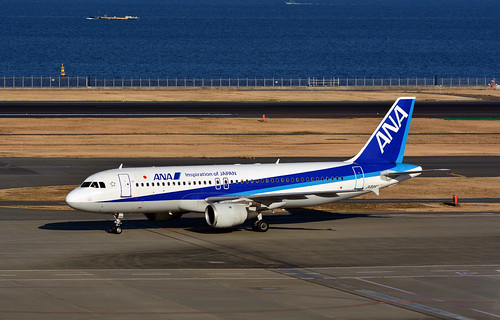 ANA JA8946, Airbus A320-211 at HND