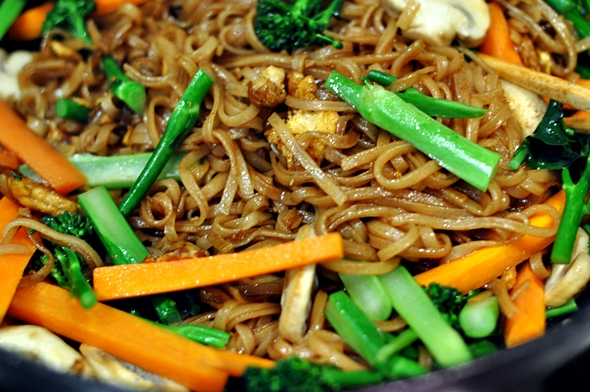 Pad See Ew Recipe | www.fussfreecooking.com