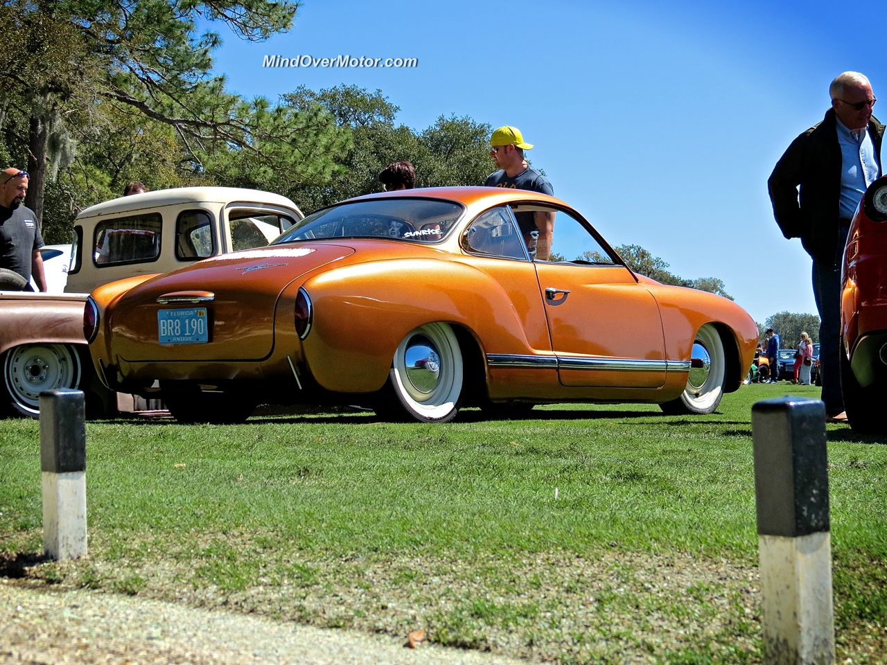 Slammed VW Ghia Festivals of Speed 3