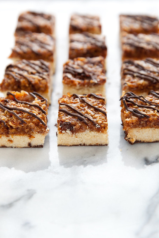 Samoa Cookie Bars