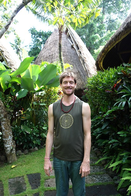 Peter Roussel at Fivelements Puri Ahimsa - Feb 2015