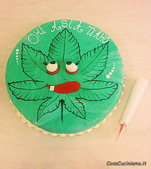 Torte - 61 - Torta Marijuana3mmm