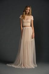 bride(0.0), bridal clothing(0.0), gown(0.0), cocktail dress(0.0), bridesmaid(0.0), prom(0.0), dress(0.0), bridal party dress(1.0), clothing(1.0), woman(1.0), fashion(1.0), female(1.0), wedding dress(1.0),