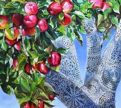 Doily apple tree