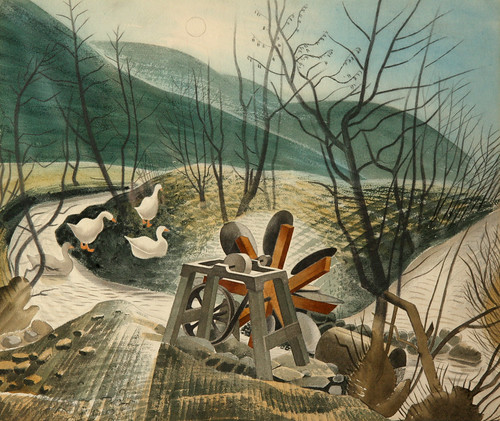 Ravilious_The_Waterwheel