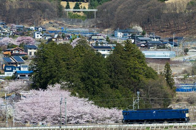 機関車 独り旅