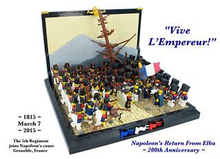 """""""Vive L'Empereur!"""", Full build view"""