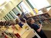 Egg Rocket Races during SE Kids STEM Club!