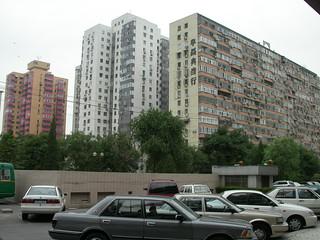 040 Apartment blocks, opposite Holiday Inn Downtown, Beijing