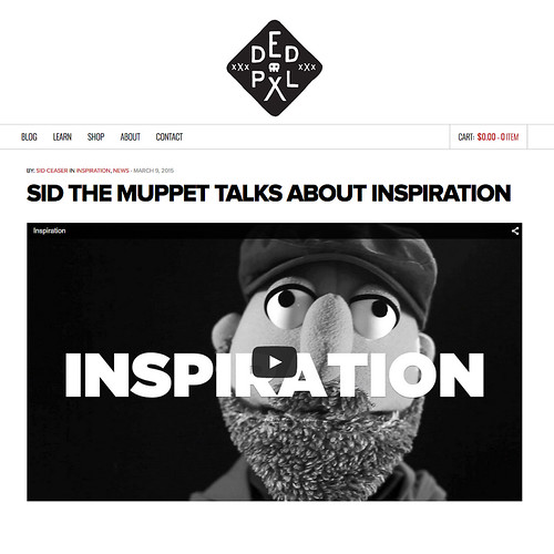 DEDPXL • Inspiration with Muppet Sid