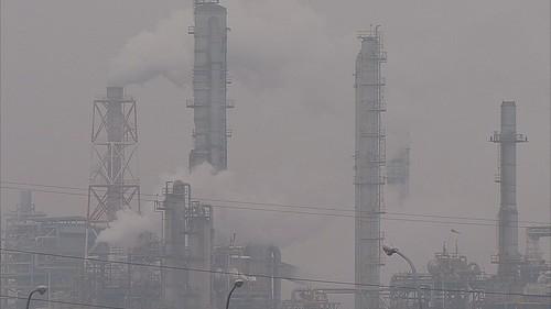 高雄工業發展,也帶來了大量汙染。圖片來源:我們的島