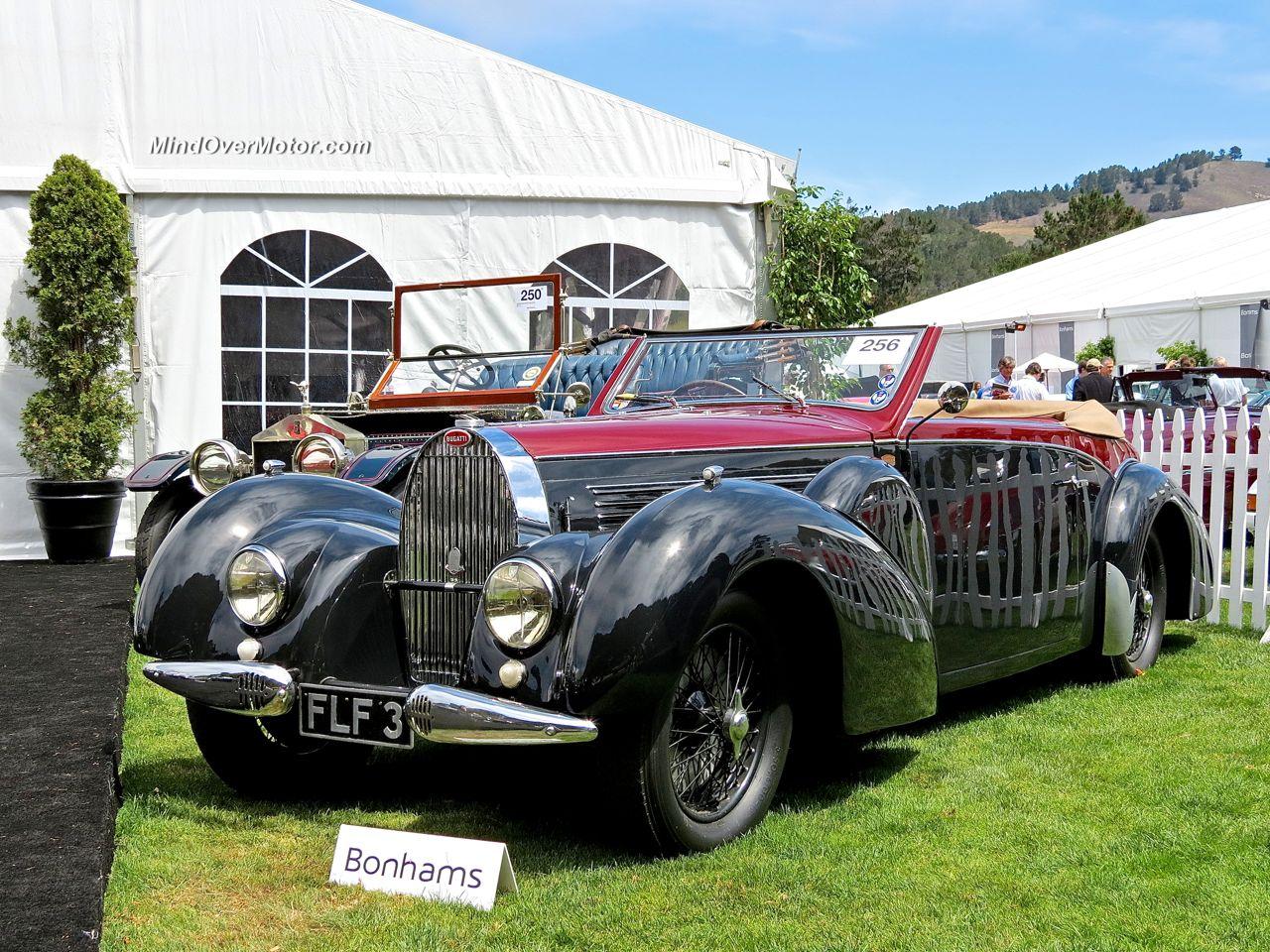 1938 Bugatti Type 57 Stelvio Front