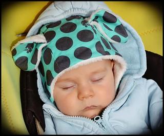 Purl Bee Lamb bonnet