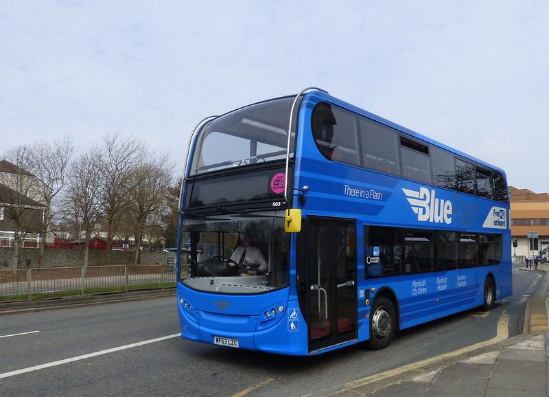 Plymouth Citybus 503 WF63LZC