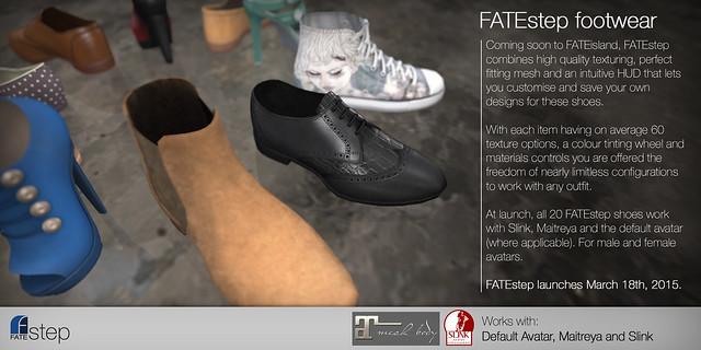 Announcing: FATEstep - Mesh Footwear!