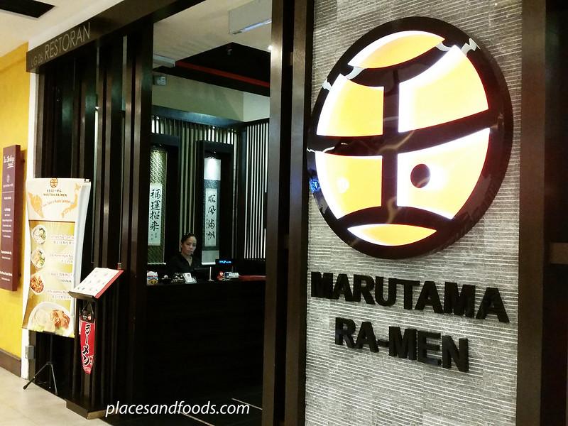 marutama ramen shop malaysia