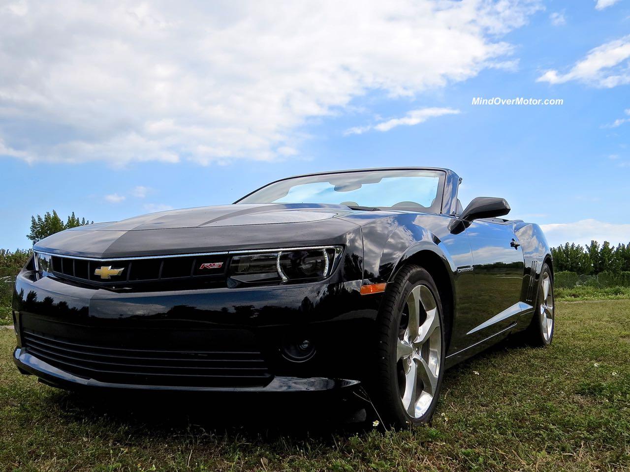 2015 Chevrolet Camaro Convertible Front Roadside 2