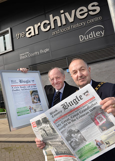 Civic reception marks The Bugle move