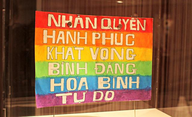 The LGBT exhibit