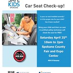 Free Car Seat Safety Check - Saturday, April 25