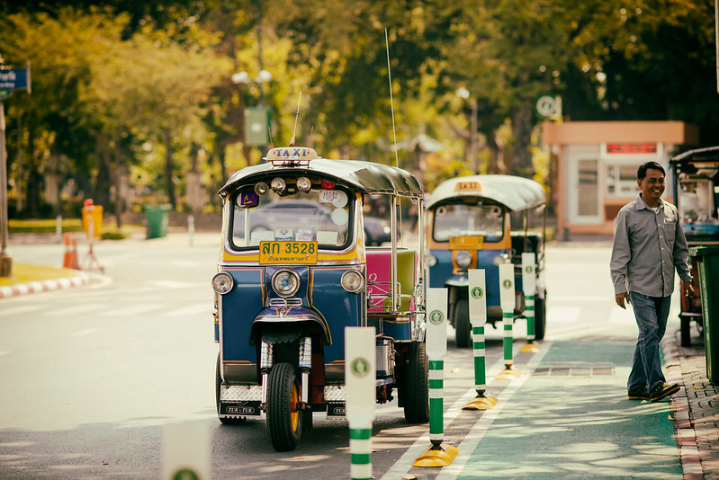 Tuk-tuks of Bangkok
