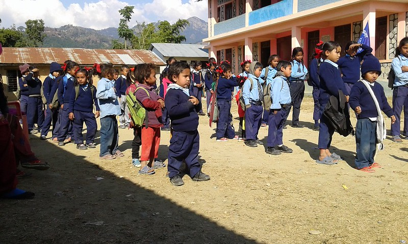 VSO Earthquake Awareness Presentation, Lamjung, Earthquake Awareness Day, January 16, 2015