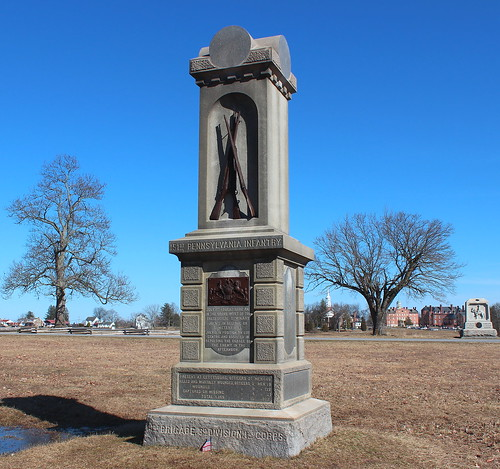 Gettysburg Day 1, 151st Pennsylvania Infantry