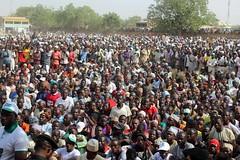 Muhammadu Buhari Presidential Campaign Rally 2015 Katsina Nigeria