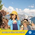 Isabellas Kuh-Patenschaft im Messepark