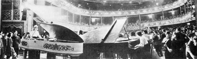 The Royal Opera House as a dance hall during World War II