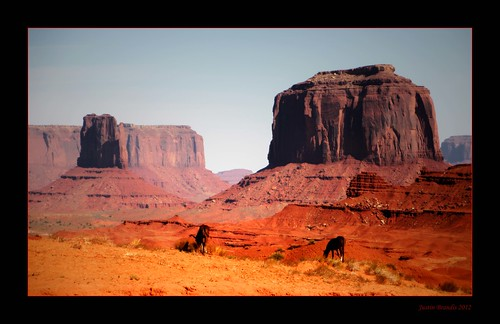 arizona horses usa monument rock stone utah sand desert butts valley monumentvalley mustangs buttes